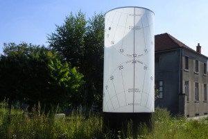 Humbekk Sundial, Grimbergen, Belgium Border Sundials