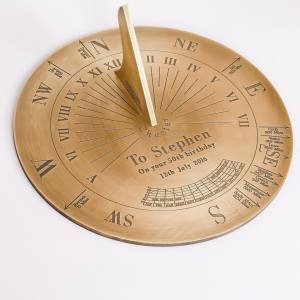 Horizontal Shop Border Sundials