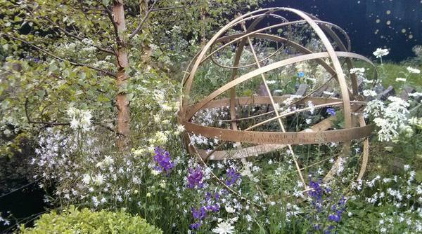 Virtual Chelsea Flower Show Border Sundials