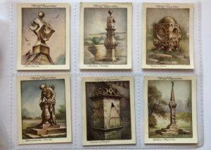 Wills' Cigarette Cards Border Sundials