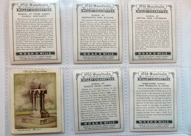 Wills' Cigarette Cards