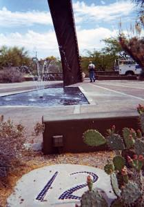 The Carefree Sundial, Arizona, USA Border Sundials