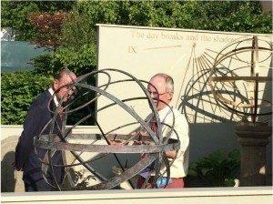 Chelsea Flower Show 2014 Border Sundials