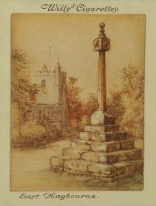 Sundial at East Hagbourne, Berkshire Border Sundials