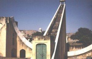 The world's largest sundial, Jantar Mantar, Jaipur Border Sundials