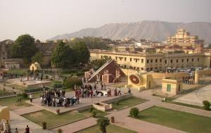 Capel's visit to the Jantar Mantar Royal Observatory, Jaipur