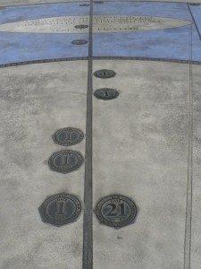 The Millennium Timespace, Gosport, UK Border Sundials