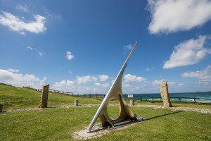 Perranporth Sundial, Cornwall Border Sundials