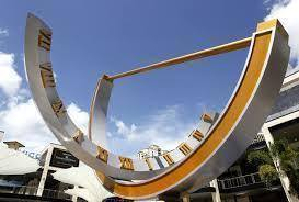 St Petersburg Sundial, Florida, USA Border Sundials