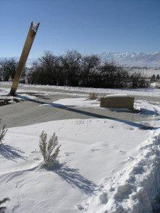 The Sun Dagger, Herber City, Utah, USA Border Sundials