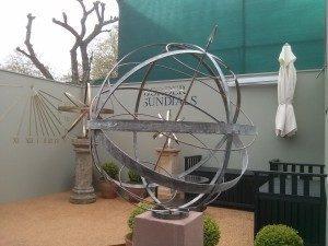 Three new sundials for Chelsea Border Sundials