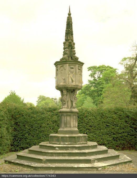 Sundial at Newbattle, Scotland Border Sundials