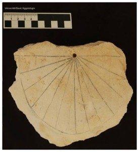 Oldest sundial found in Egypt Border Sundials
