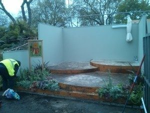 Growing Spaces design stand for Chelsea Border Sundials