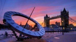 Timepiece,  Tower Bridge, London Border Sundials