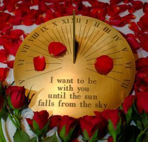 'Make time' for the person you love Border Sundials