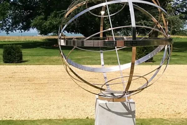 Stainless Steel Border Sundials