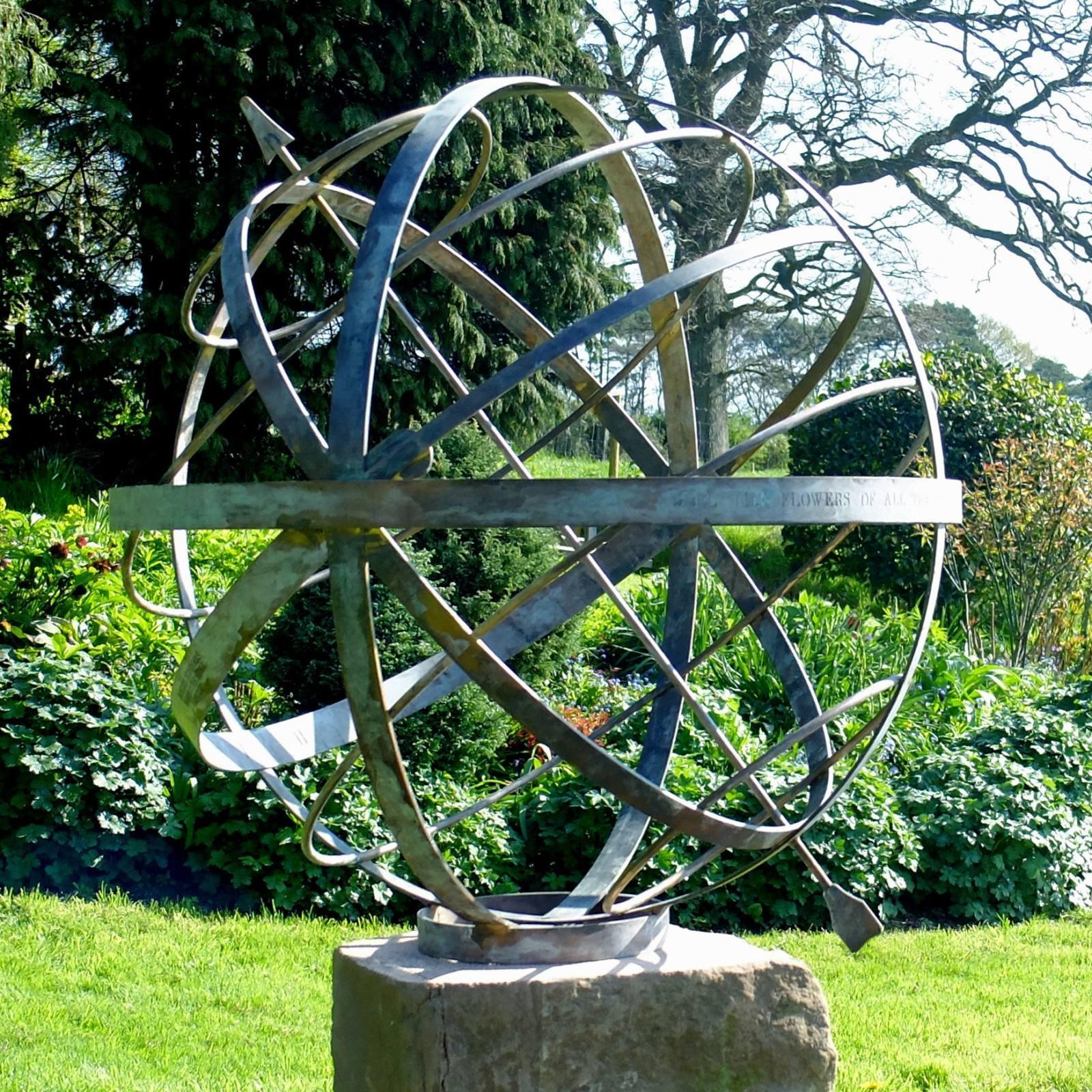 Armillary Border Sundials